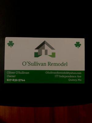 Avatar for O'Sullivan Remodel