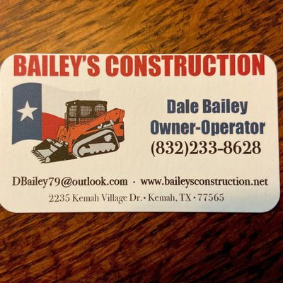 Avatar for Baileys Construction