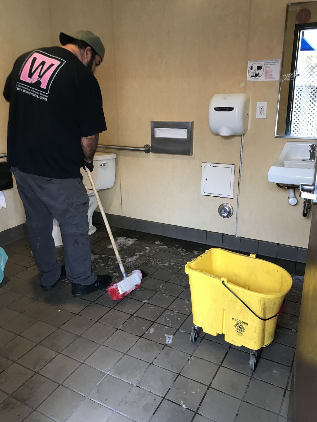 Deep cleaning during Covid-19
