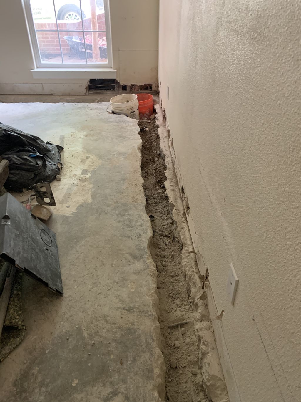 Basement Wall Leak - Repaired 4 times previously