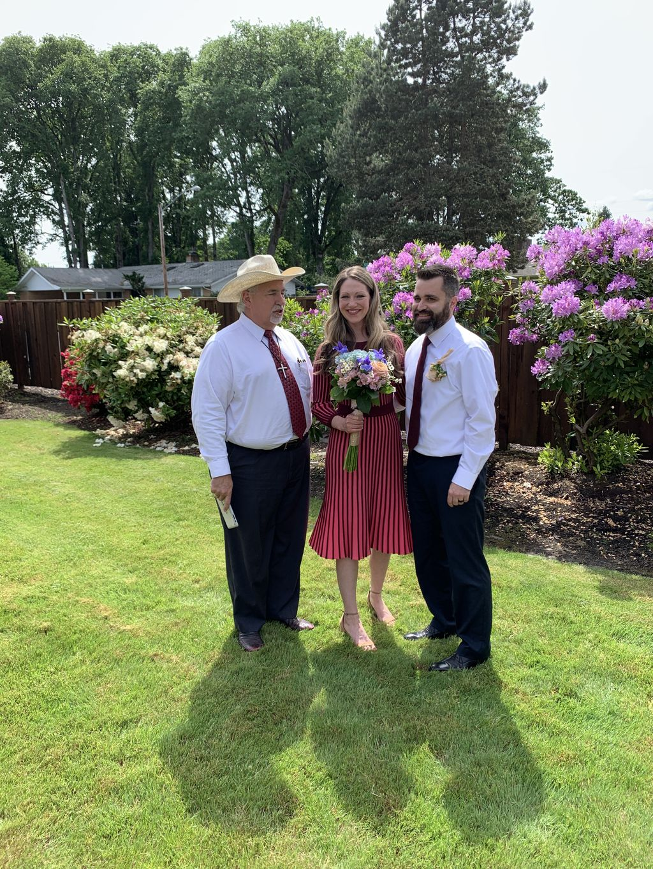 Wedding Officiant - Eugene 2020