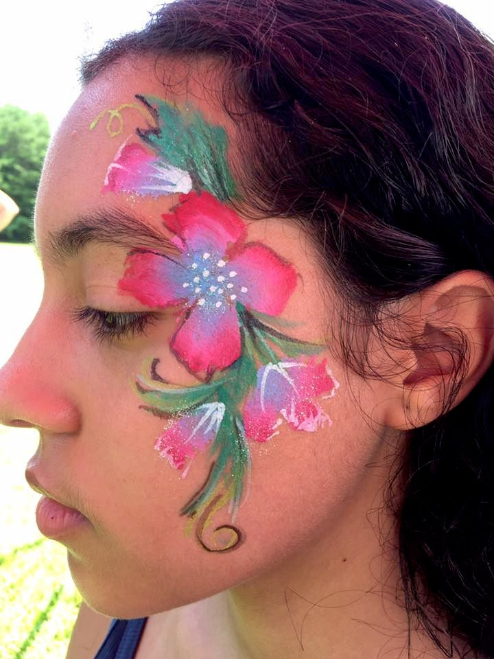 Face Painting Examples