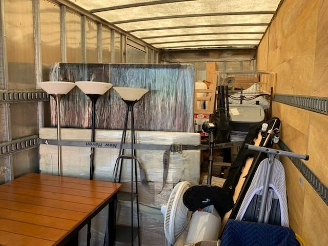 moving out a storage unit