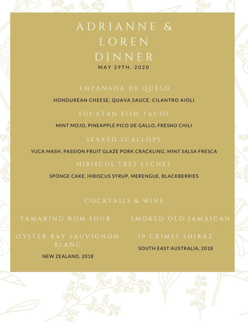 Addrienne & Loren Dinner Date
