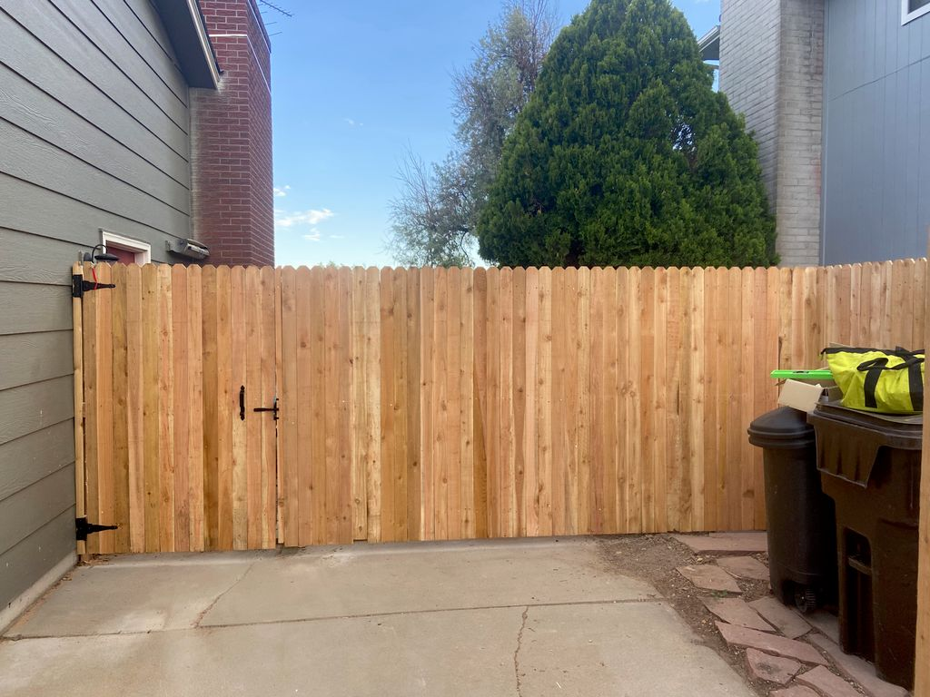 Brad J fence replacement