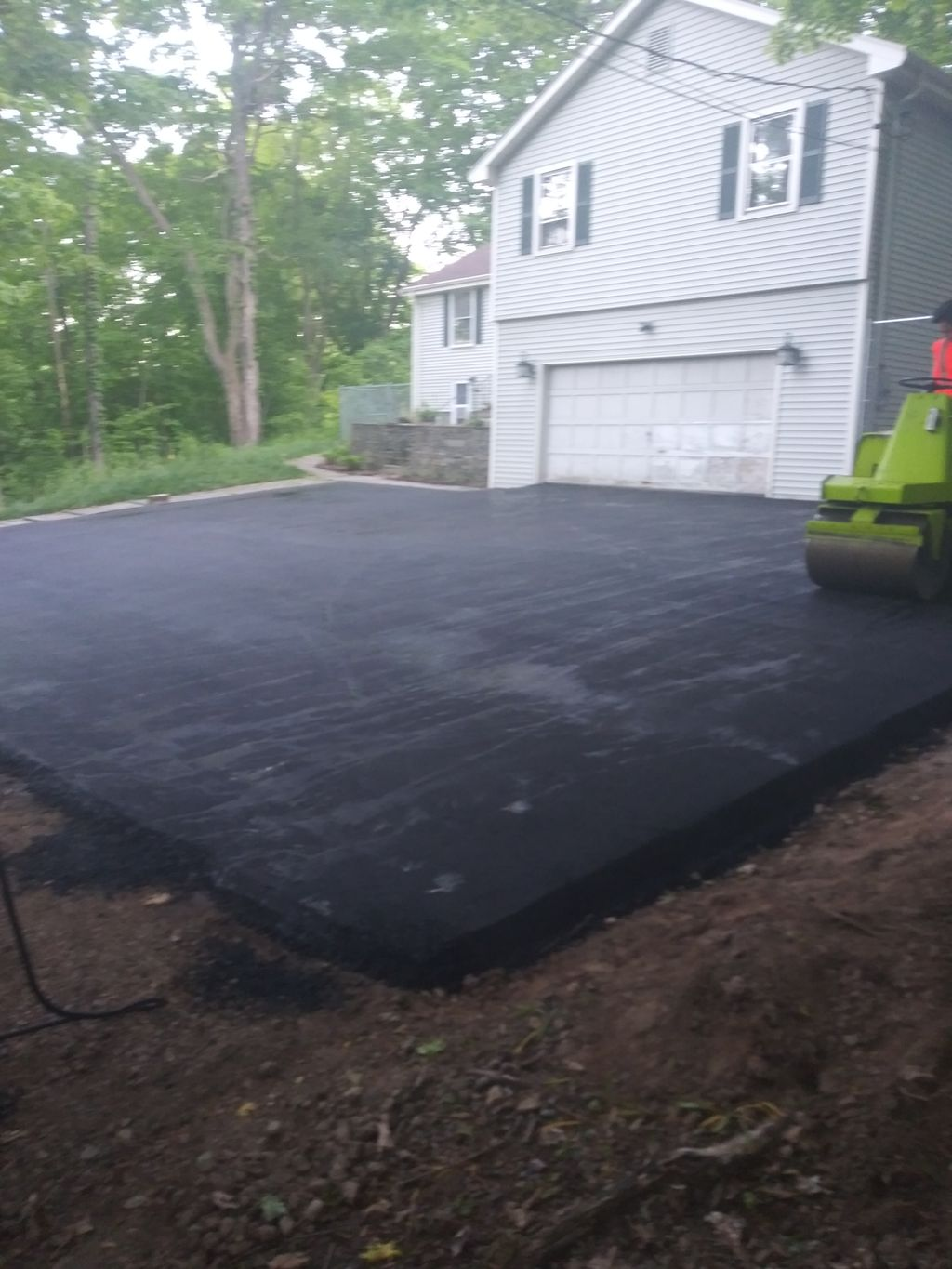 Digout, gravel, grade, and pave
