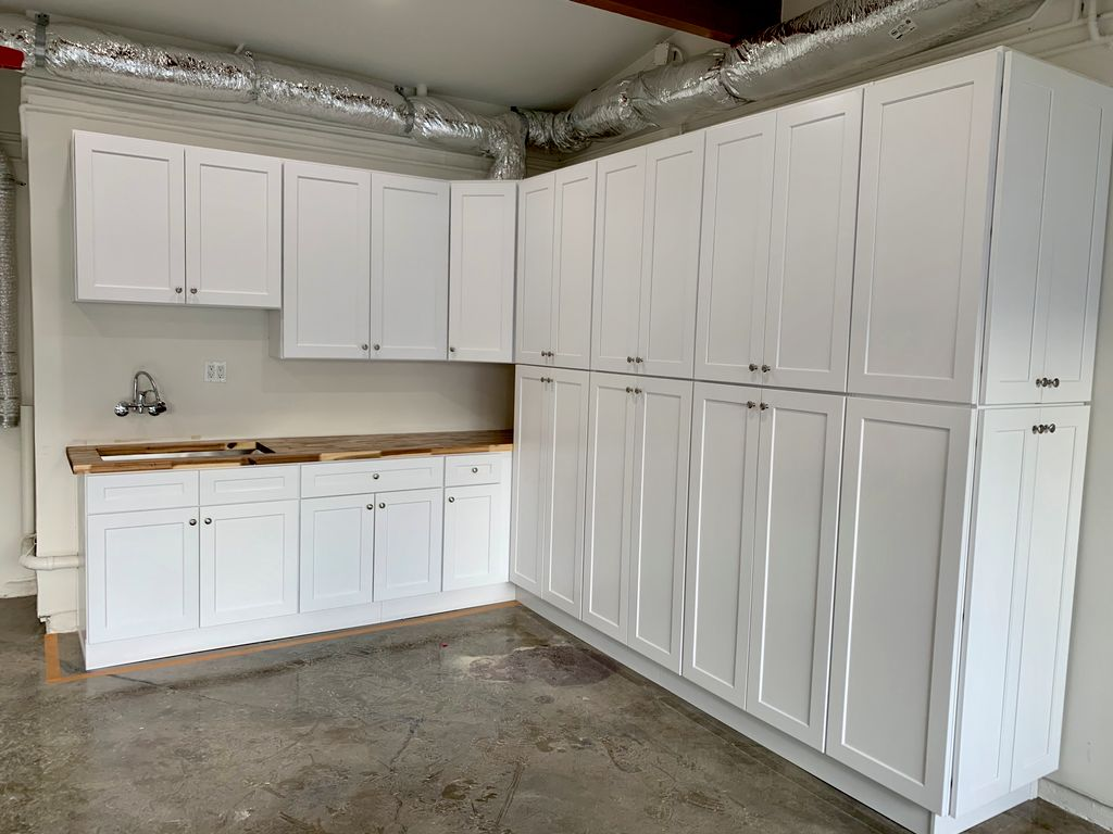 Cabinetry in Garage