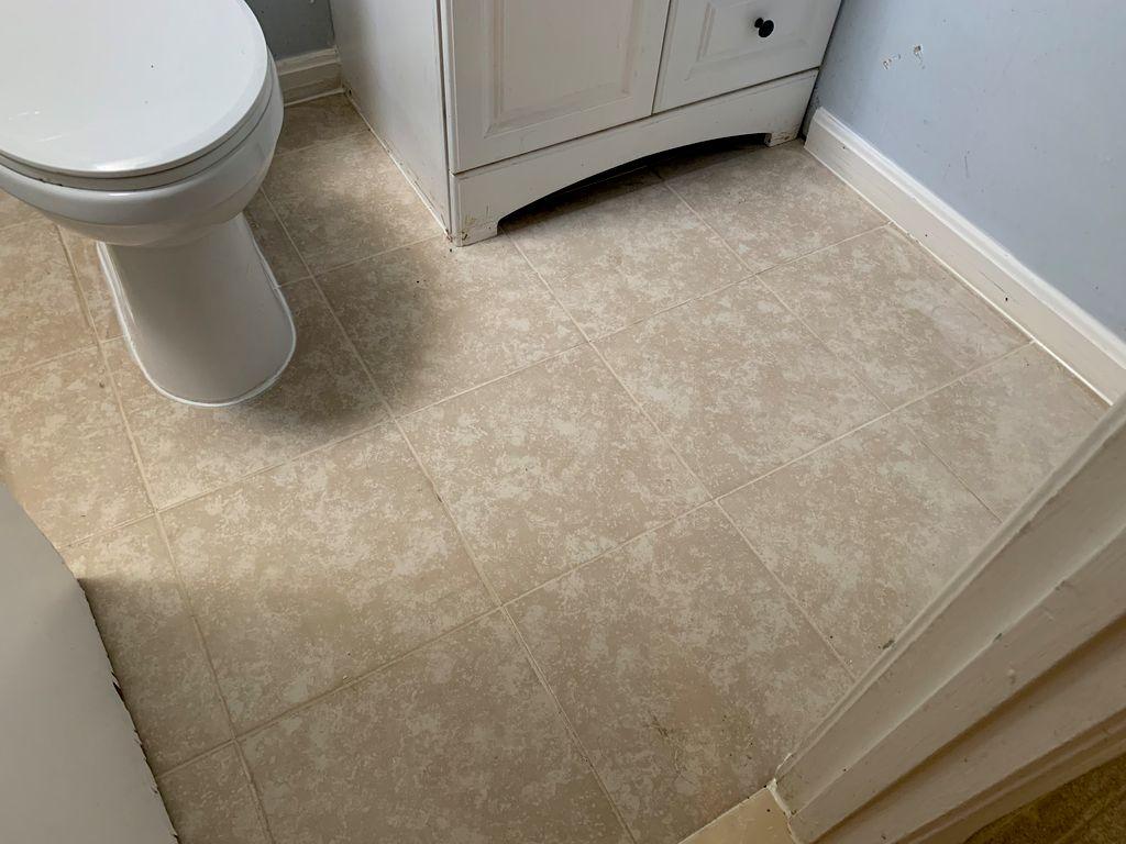 Shower tub painting & ceramics walls and floors