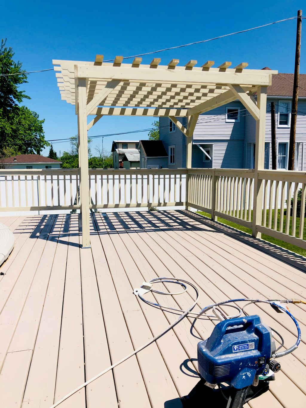 Deck Painting and Sealing