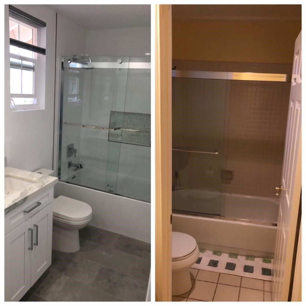 Guest and Master Bathroom Remodel