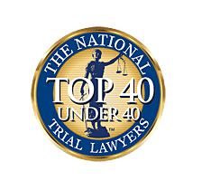 National Trial Lawyers Top 40 Under 40 Award Recipient