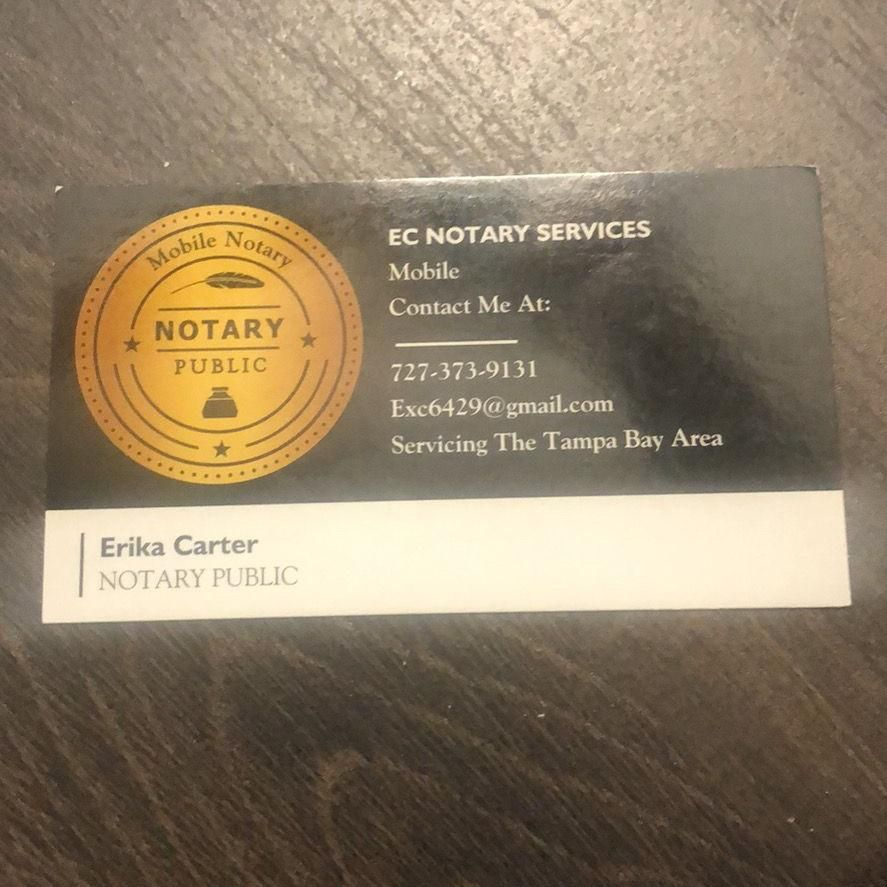 EC Notary Services