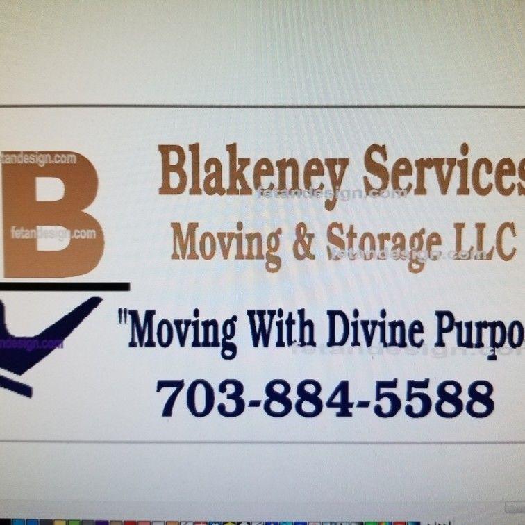 Blakeney Services Moving & Storage LLC.