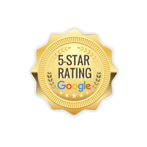 Google 5 Star Rating by Previous Clients