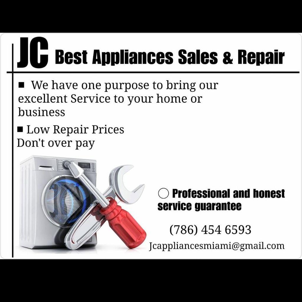 Jc Best Appliances Sales & repair.