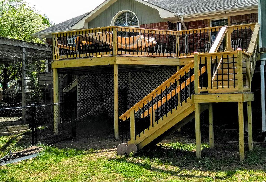 Deck design and remodel
