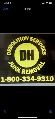 Avatar for DH Demolition Services & Junk Removal LLC