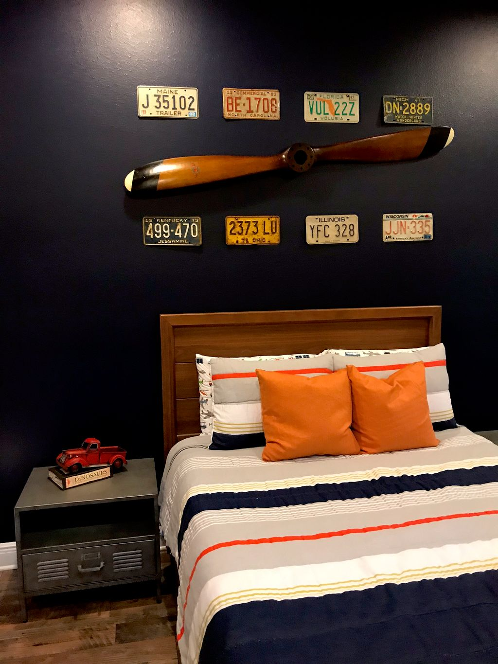 Cars and Planes Kid's Bedroom