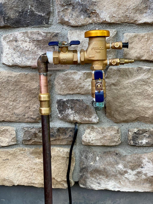 Replacement  Backflow preventer valve