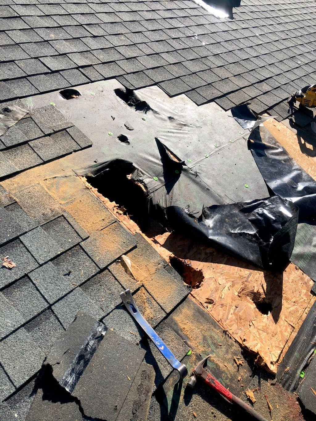 Horace roof repairs/