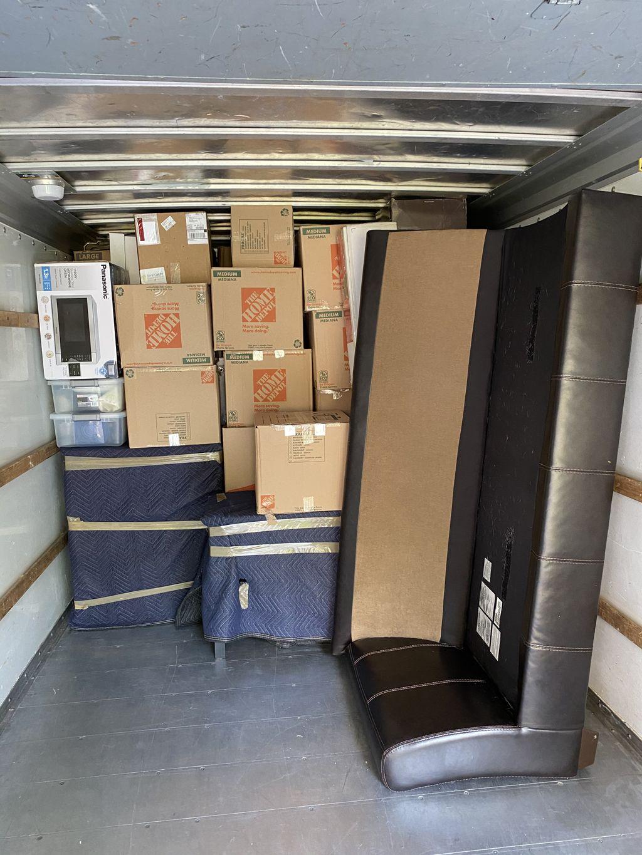 Moving studio apartment