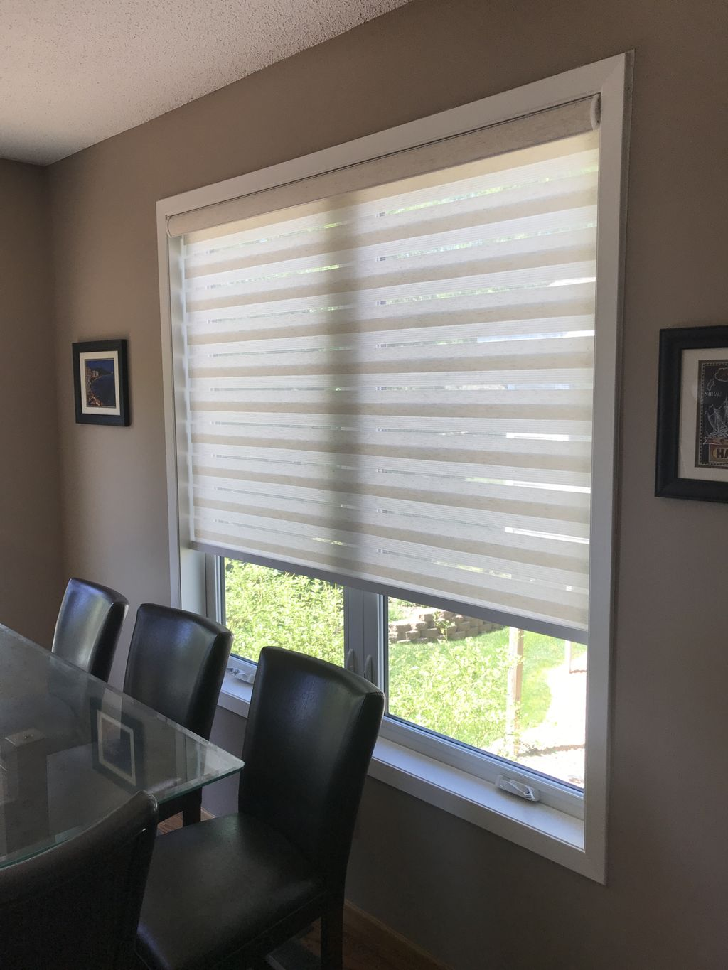Kitchen and Dinette Window Treatments