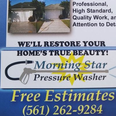 Avatar for Morning star pressure wash and landscaping inc