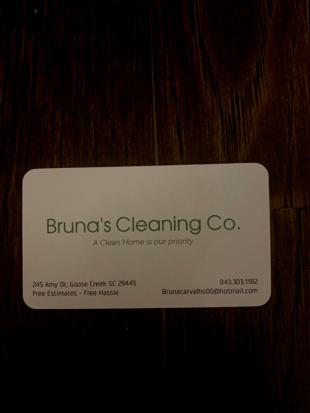 Bruna's Cleaning Co.