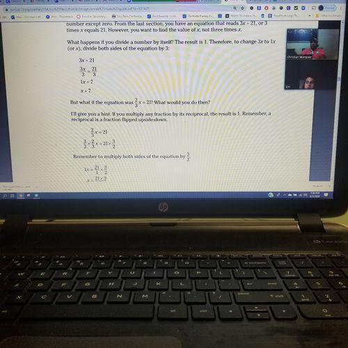 Teaching online before coranovirus