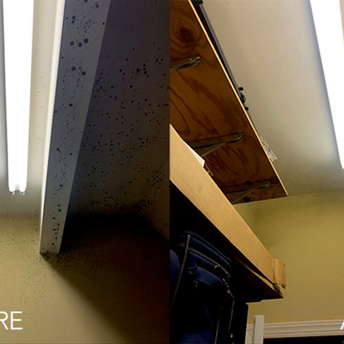 Drywall - Before and After