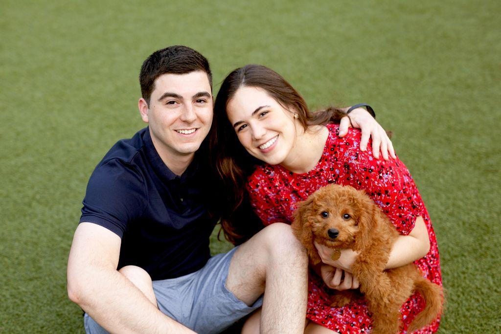 Kona Puppy and Family