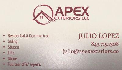 Avatar for Apex Exteriors LLC