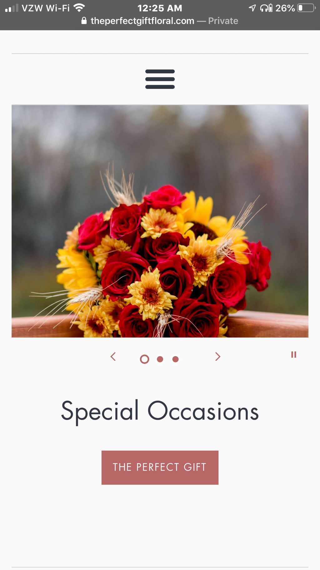 The perfect gift Floral