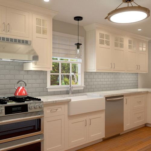 Kitchen design in Havertown