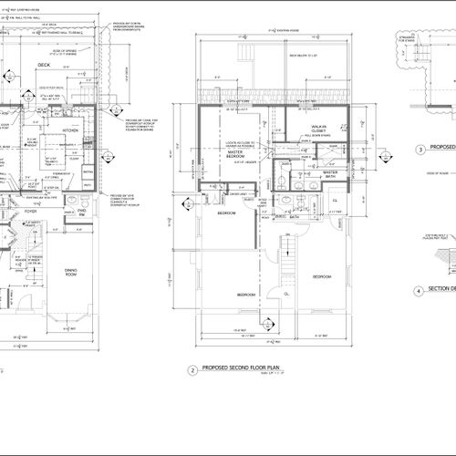 Plans of addition in Bryn Mawr
