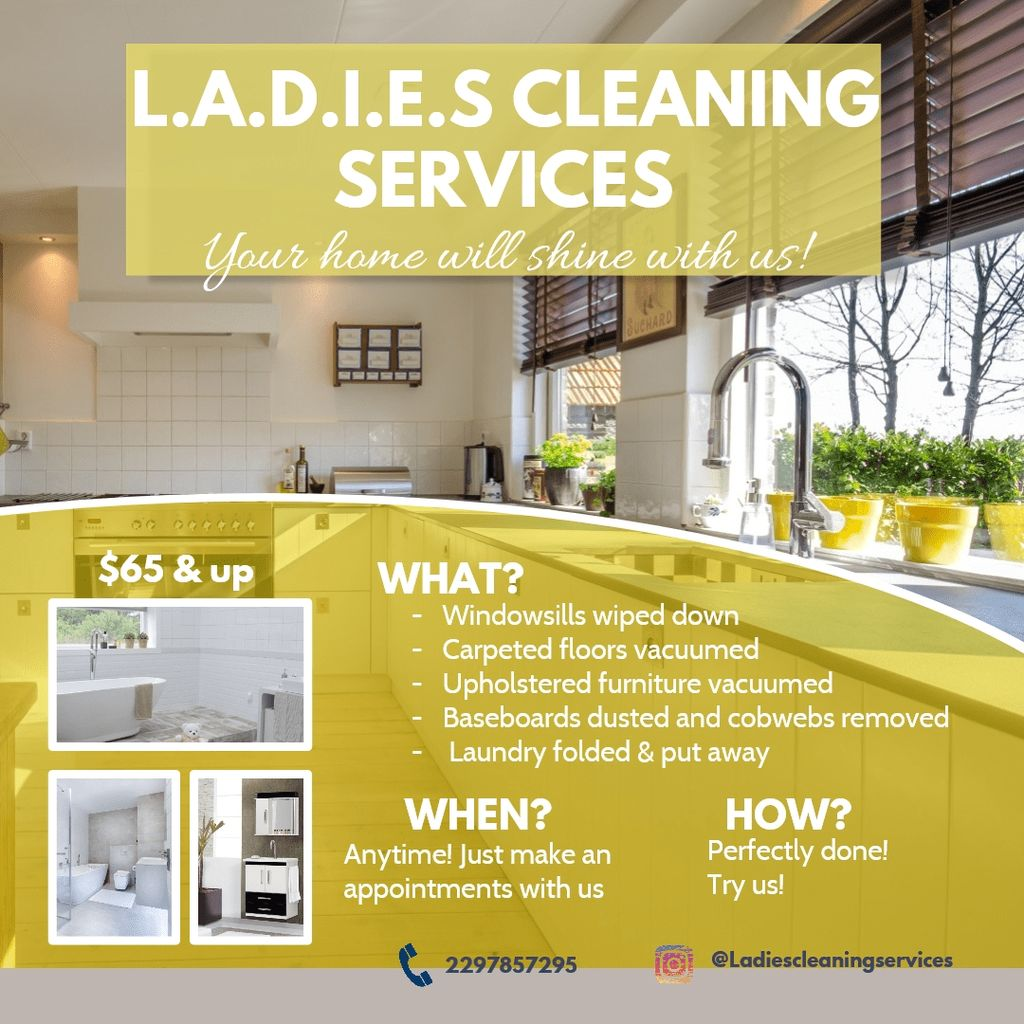 L.A.D.I.E.S. CLEANING SERVICES