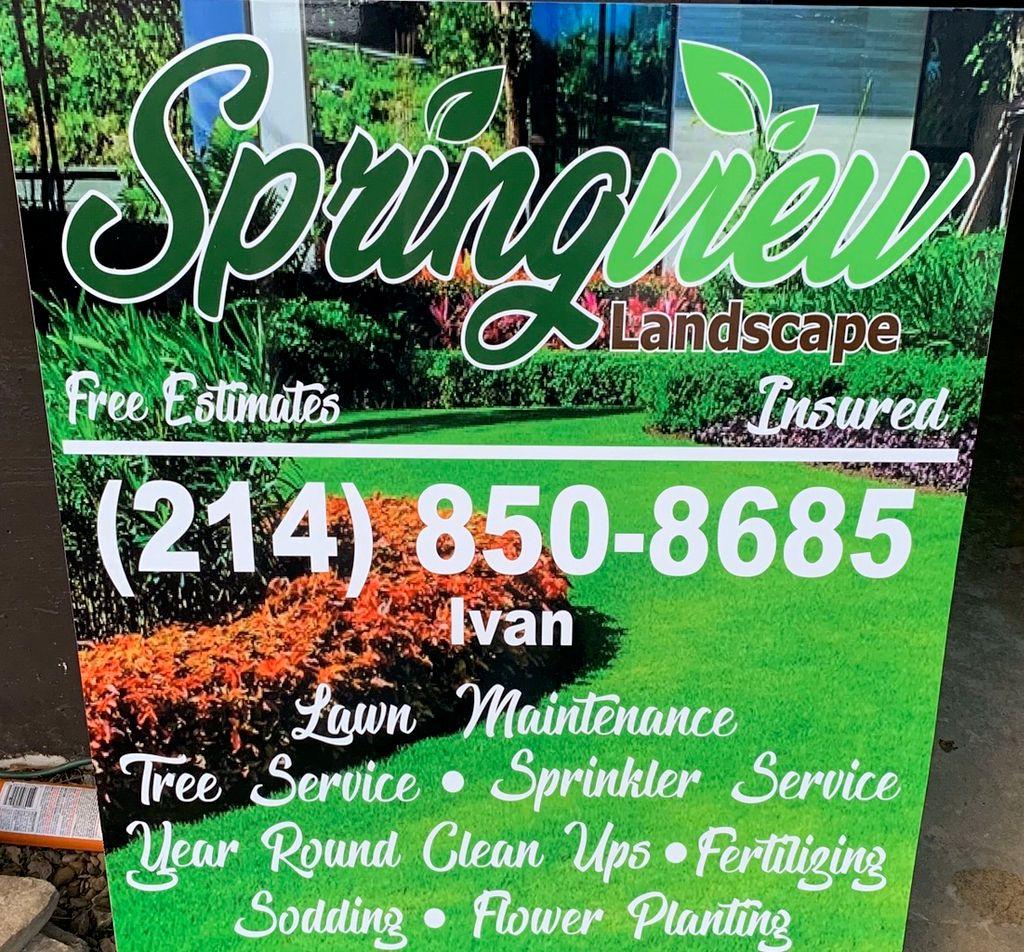 Springview landscape