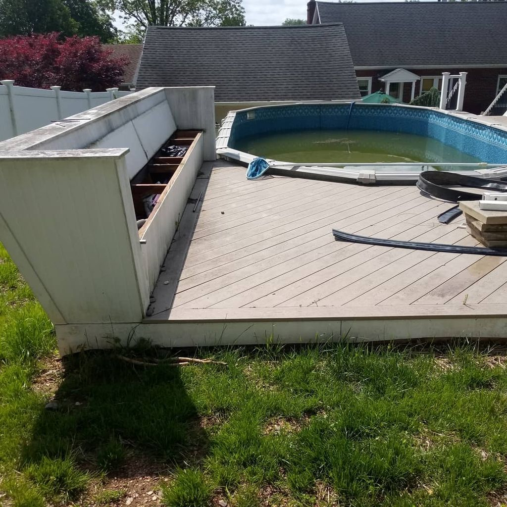 Pool and deck removal