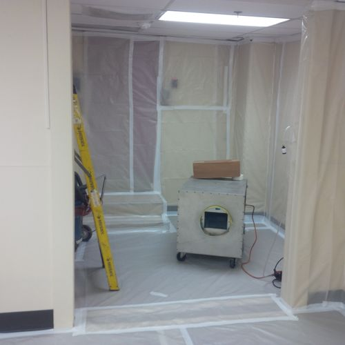 Asbestos Abatement Federal Facility