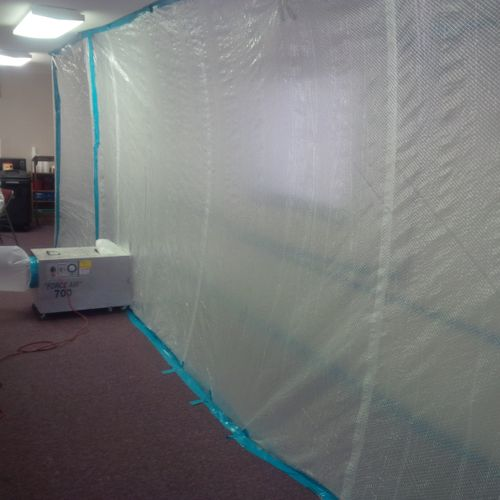 Mold Containment System