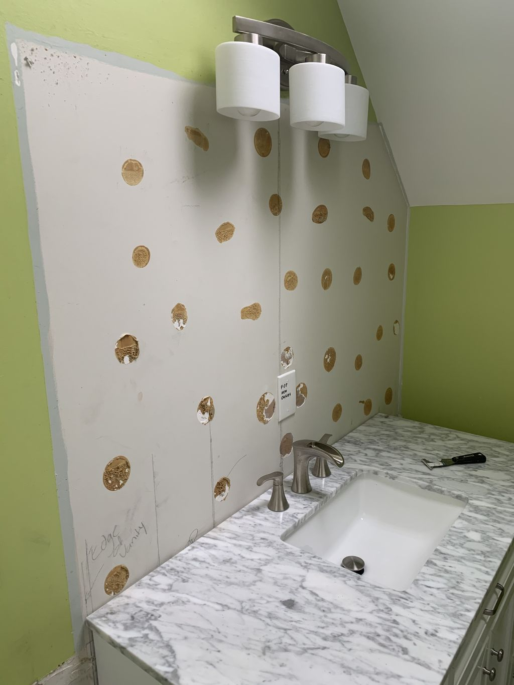 Double bathroom update and remodel