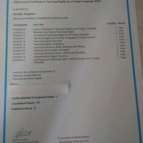 Grade 'A Course Work