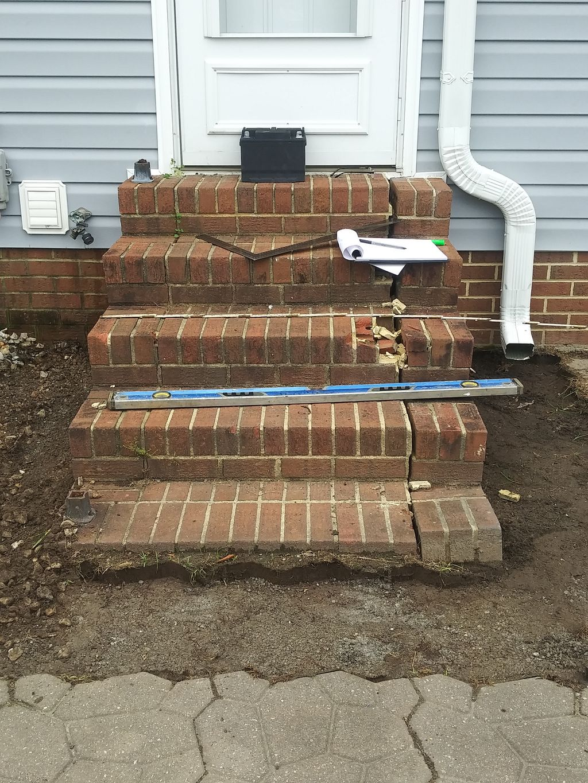 New Brick Steps