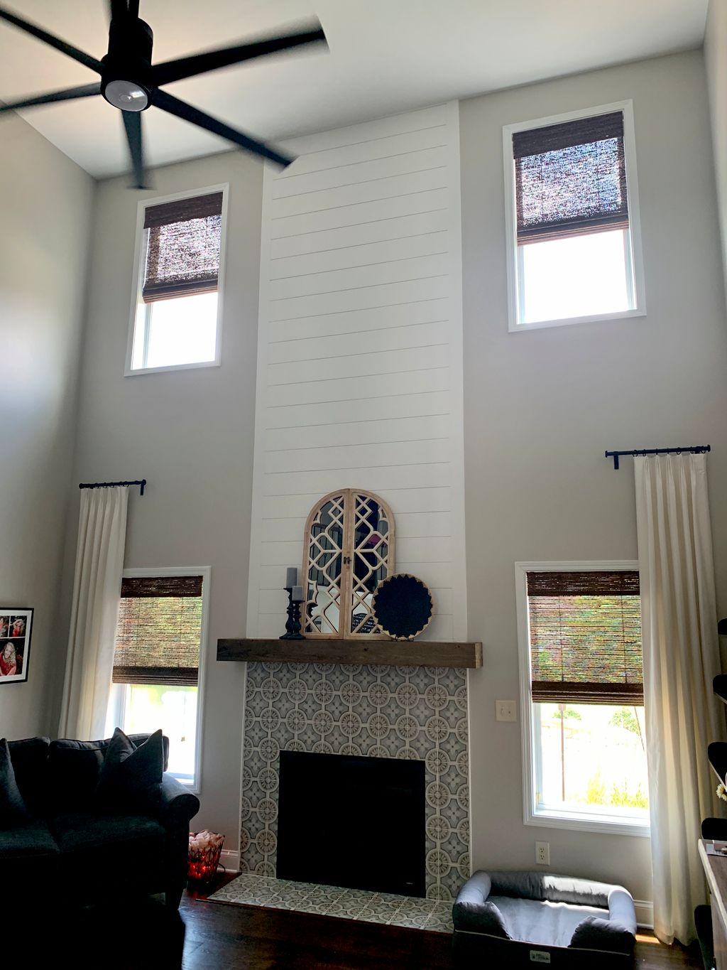 Window and Fireplace Refresh