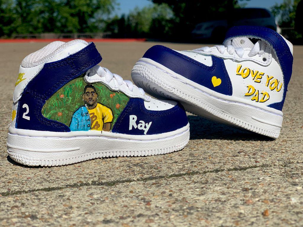 Custom kids shoes