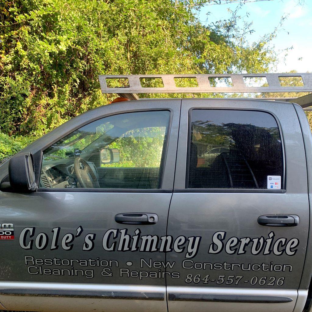 Coles chimney and brick