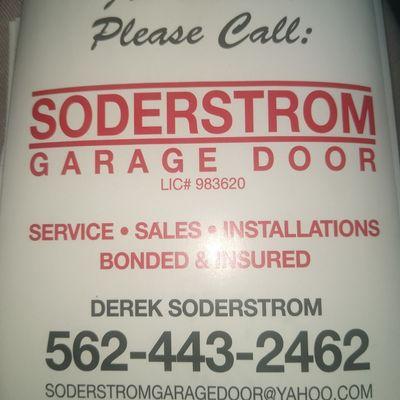 Avatar for Soderstrom garage door