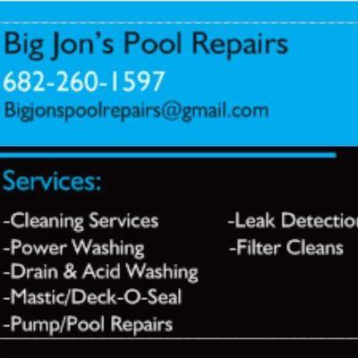 Avatar for Big Jon's pool repairs