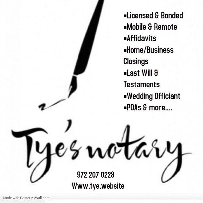 Tye's Notary & Consulting