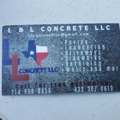 Avatar for L&L concrete